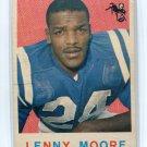 LENNY MOORE 1959 Topps #100 Baltimore Colts PENN STATE Nittany Lions HOF
