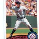 RYAN ZIMMERMAN 2011 Topps #660 Washington Nationals
