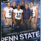MICHAEL MAUTI ZORDICH, JACK HAM, TALIAFERRO Game Program PENN STATE vs. NORTHWESTERN - 10/6/2012