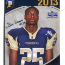 TITUS HOWARD 2013 Pennsylvania PA Big 33 High School card PITT Panthers SAFETY