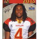 JOHN JOHNSON 2013 Maryland MD Big 33 High School card BOSTON COLLEGE DB