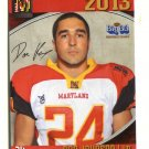 DAN JOHNSON 2013 Maryland MD Big 33 High School card JOHNS HOPKINS LB