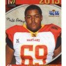 MALIK DORSEY 2013 Maryland MD Big 33 High School card MAINE OL