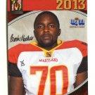BREONTAE MATTHEWS 2013 Maryland MD Big 33 High School card ST. AUGUSTINE OL