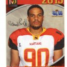 RASHARD BUDD 2013 Maryland MD Big 33 High School card LACKAWANNA DL