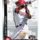 JUSTIN UPTON 2010 Topps ToppsTown INSERT #TTT19 Braves DIAMOND BACKS