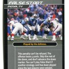 STEVE McNAIR 2001 NFL Showdown Action Card #S21 Titans QB RIP
