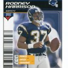 RODNEY HARRISON 2002 NFL Showdown #274 Chargers