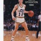 JOHN STOCKTON 1989-90 Broder Type #12 Utah Jazz GONZAGA