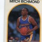 MITCH RICHMOND 1989 Hoops #260 ROOKIE Golden State Warriors KANSAS STATE Wildcats