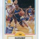 TIM HARDAWAY 1990 Fleer #63 ROOKIE Golden State Warriors UTEP