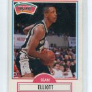 SEAN ELLIOTT 1990 Fleer #171 ROOKIE San Antonio Spurs ARIZONA Wildcats