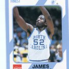 JAMES WORTHY 1989 89 North Carolina's Finest #21 LAKERS