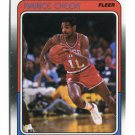 MAURICE CHEEKS 1988 Fleer #86 Philadelphia 76ers