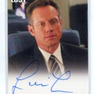 FREDRIC LEHNE as U.S. Marshall Edward Mars 2010 Rittenhouse LOST Archives Auto AUTOGRAPH