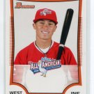 TONY WOLTERS 2009 Bowman Aflac #AFLAC-TW ROOKIE Indians QTY Quantity