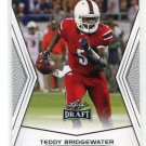 TEDDY BRIDGEWATER 2014 Leaf Draft #TB1 Rookie LOUISVILLE Cardinals QB