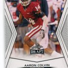 AARON COLVIN 2014 Leaf Draft #1 Rookie OKLAHOMA Sooners CB QUANTITY QTY
