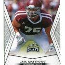 JAKE MATTHEWS 2014 Leaf Draft #24 Rookie TEXAS A&M Aggies OT Quantity QTY