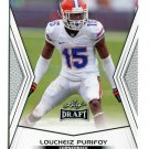 LOUCHEIZ PURIFOY 2014 Leaf Draft #37 Rookie FLORIDA Gators CB Quantity QTY