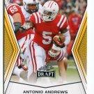 ANTONIO ANDREWS 2014 Leaf Draft GOLD SP #71 Rookie WESTERN KENTUCKY RB