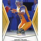DAVID FALES 2014 Leaf Draft GOLD SP #82 Rookie SAN JOSE STATE QB