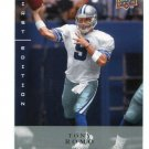 TONY ROMO 2008 Upper Deck UD First Edition #42 Dallas Cowboys QB