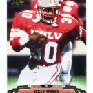 ICKEY WOODS 2014 Upper Deck UD Low Number SP #26 Bengals UNLV