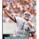 DAN MARINO 1991 Pro Set #25 Pitt Panthers DOLPHINS QB