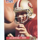 JOE MONTANA 1991 Pro Set #3 49ers NOTRE DAME Irish QB