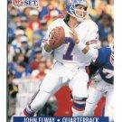 JOHN ELWAY 1991 Pro Set #138 Broncos STANFORD Cardinal QB
