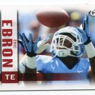 ERIC EBRON 2014 Sage Hit #135 Rookie North Carolina UNC Tar Heels DETROIT Lions