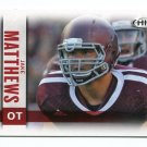 JAKE MATTHEWS 2014 Sage Hit #127 Rookie TEXAS A&M Aggies FALCONS
