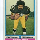 FRANCO HARRIS 1974 Topps #220 Steelers PENN STATE Nittany Lions - 2nd year