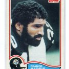 FRANCO HARRIS 1982 Topps #211 Steelers PENN STATE Nittany Lions