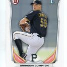 BRANDON CRUMPTON 2014 Bowman Draft Picks #BP81 ROOKIE Pirates
