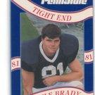 KYLE BRADY 1992 Penn State Second Mile NY JETS Patriots JAGUARS TE