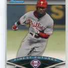 DOMONIC DOMINIC BROWN 2011 Bowman Finest Futures INSERT #FF12 ROOKIE Philadelphia Phillies