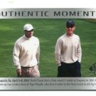 TIGER WOODS / DAVID DUVAL 2013 SP Authentic Moments #70 PGA Golf