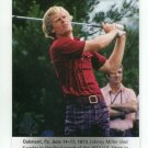 JOHNNY MILLER 2013 SP Authentic Moments #60 PGA Golf