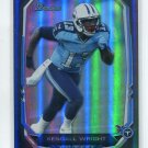 KENDALL WRIGHT 2013 Bowman REFRACTOR #69 Titans BAYLOR Bears
