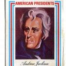 ANDREW JACKSON 1974 Visual Panographics AMERICAN PRESIDENTS A