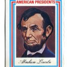 ABRAHAM LINCOLN 1974 Visual Panographics AMERICAN PRESIDENTS