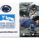 BILL BELTON 2014 Penn State Nittany Lions Football Schedule FULL SIZE