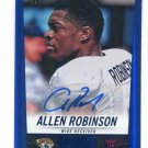 ALLEN ROBINSON 2014 Panini Hot Rookies AUTO #335 ROOKIE PENN STATE Jaguars #d/99