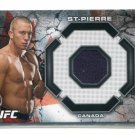 GEORGE RUSH ST. PIERRE 2013 Topps UFC Fighter-Worn GEAR RELIC MEMORABILIA Canada #d/198