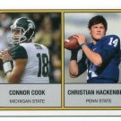 CHRISTIAN HACKENBERG / CONNOR COOK 2014 Prospect Review PENN STATE Michigan St QB