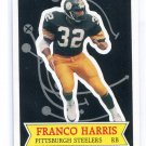 FRANCO HARRIS 1984 Topps NFL Football Stars #5 Steelers PENN STATE Nittany Lions