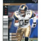 KEITH LYLE 2001 NFL Showdown First 1st Edition #407 St. Louis Rams