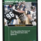 RYAN TUCKER 2001 NFL Showdown Action Card #S6 St. Louis Rams